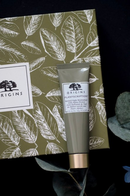 Origins Plantscription Retinol Night Moisturizer with Alpine Flower