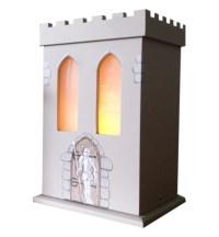 Childrens Wooden Castle Lamp | White Rabbit England ...