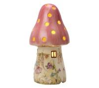 Childrens Pink Fairy Mushroom Lamp   White Rabbit England ...
