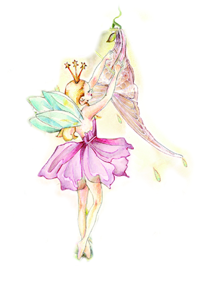 Girls Pink Bedroom Wallpaper Childrens Pink Fairy Mushroom Lamp White Rabbit England