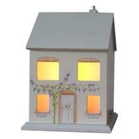 Childrens Wooden House Lamp | White Rabbit England ...