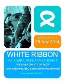 Kaikoura White Ribbon Event