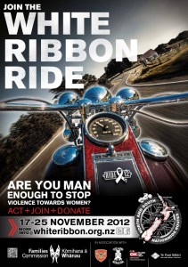 White Ribbon Ride 2012 Poster
