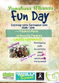 Papakura Marae - Whanau Fun Day