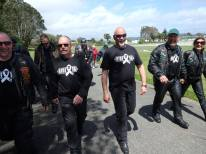 White Ribbon....Walk the talk at Cass Square Hokitika, organised by Soroptmists International Westland.