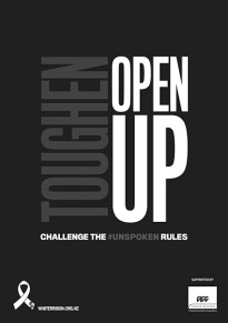 White Ribbon 2019 Poster A3 Toughen Up 72dpi