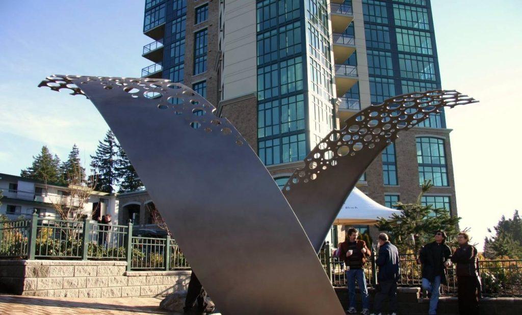 Holes In The Sky Douglas Senft Public Statue