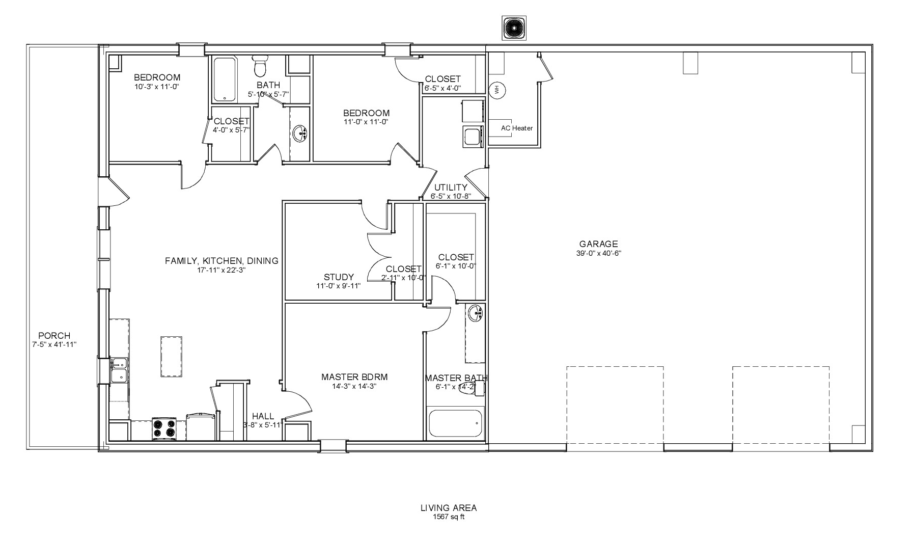 Floor Plans For Metal Building With Living Quarters