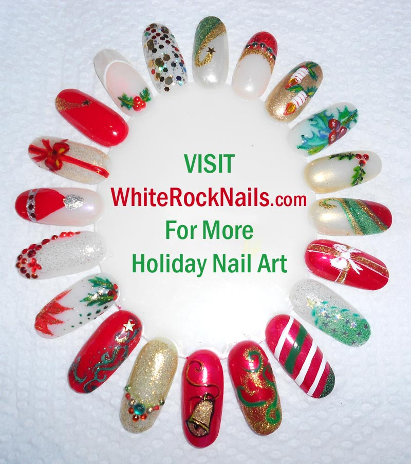 Pop By And Get Your Ho On Let Nails Be The Conversation Starter At Next Holiday Party