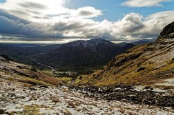 Looking down Stickle Ghyll