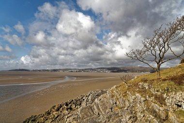 Looking across towards Grange-Over-Sands