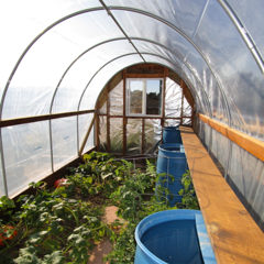 Getting Cold Outside Hoop House Protection