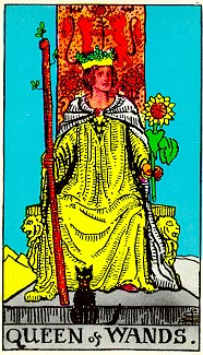 RWS Queen of Wands