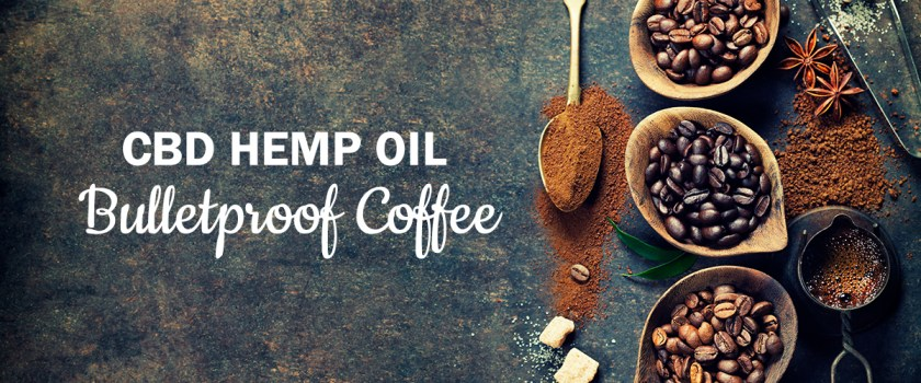 CBD Hemp Oil Bulletproof Coffee