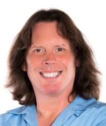 Bill Foss in blue shirt