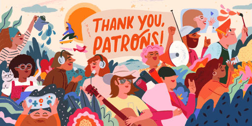 Thank You Patrons Day