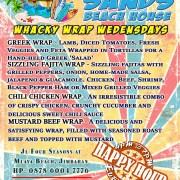 White Sands Wacky Wrap Wednesdays