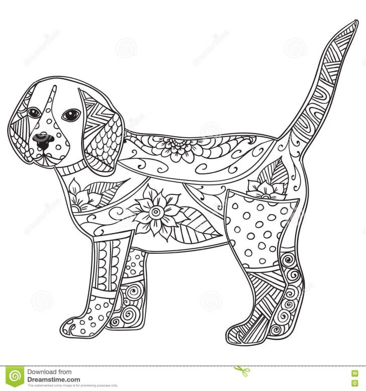 100day dog coloring pages for adults remarkable growth