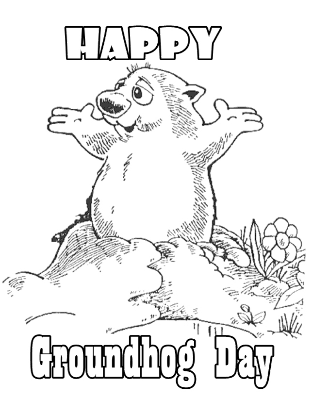 1280 groundhog day free clipart 4