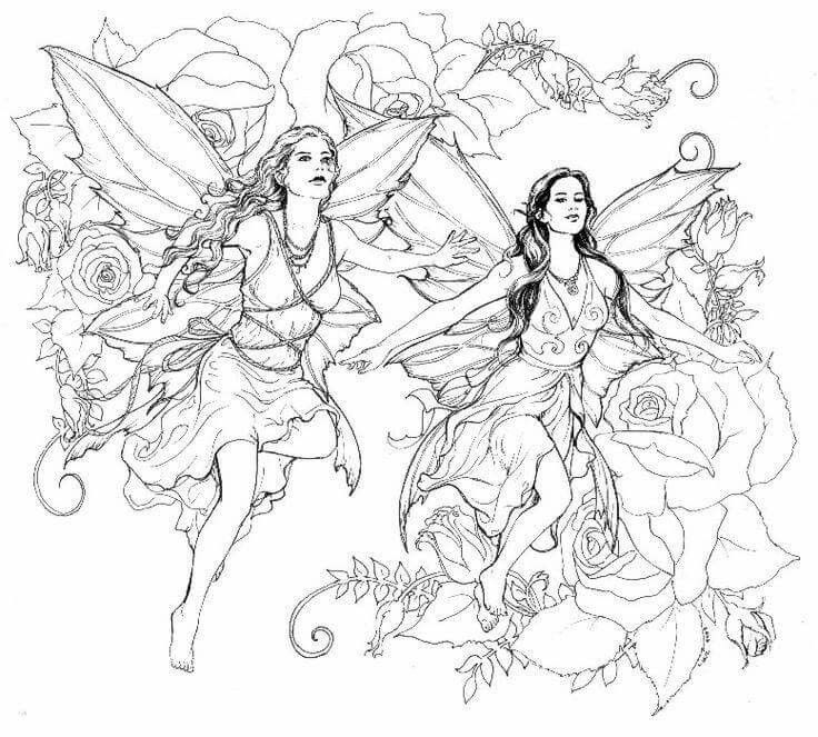 1341 fairies free clipart 7