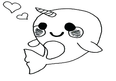 365 narwhal free clipart 3