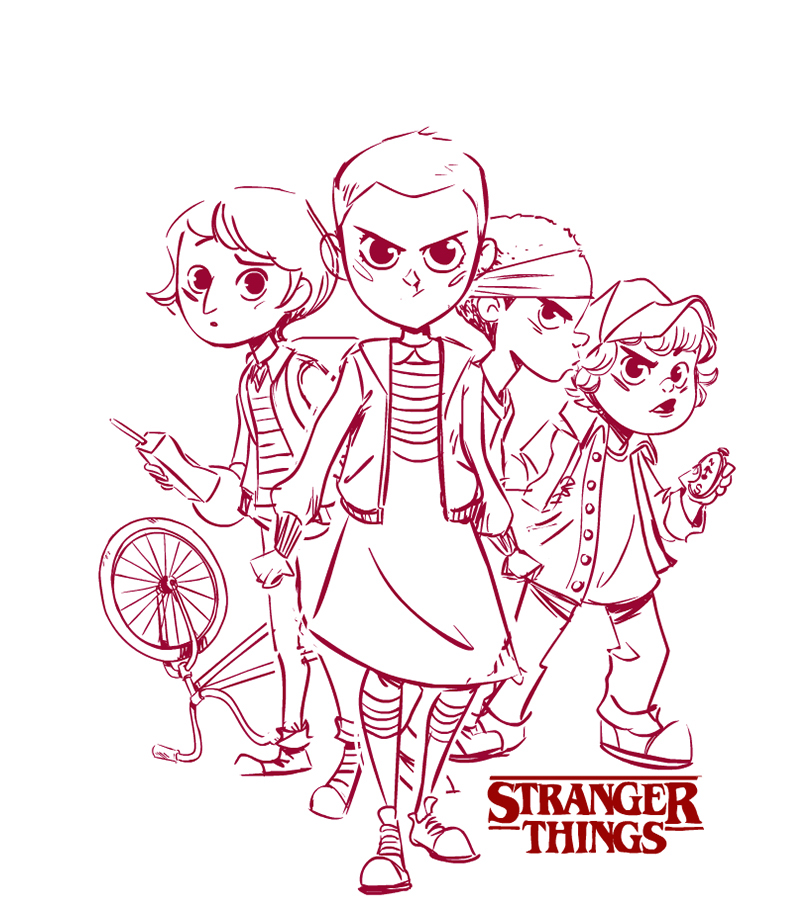 377 stranger things free clipart 2