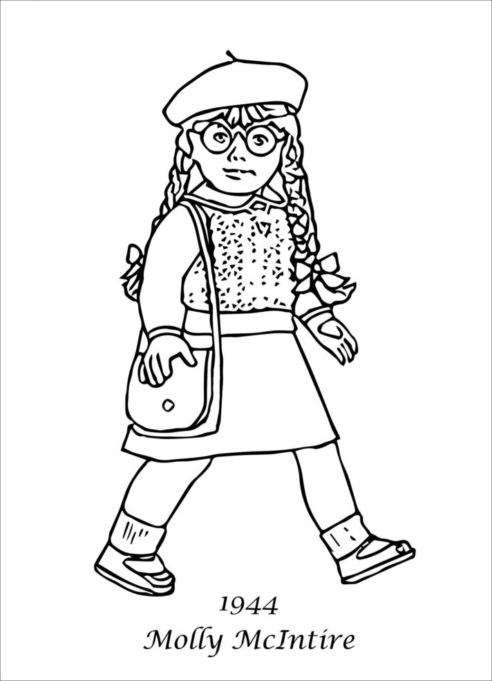 42 most preeminent american girl doll coloring pages ba