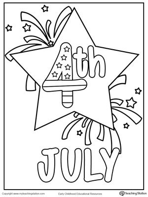 4th july star coloring page star coloring pages fourth of