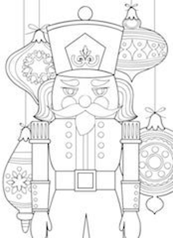 5 printable nutcracker coloring pages zentangle coloring book