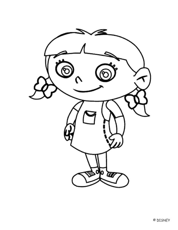 66 most first rate smiling annie little einsteins coloring