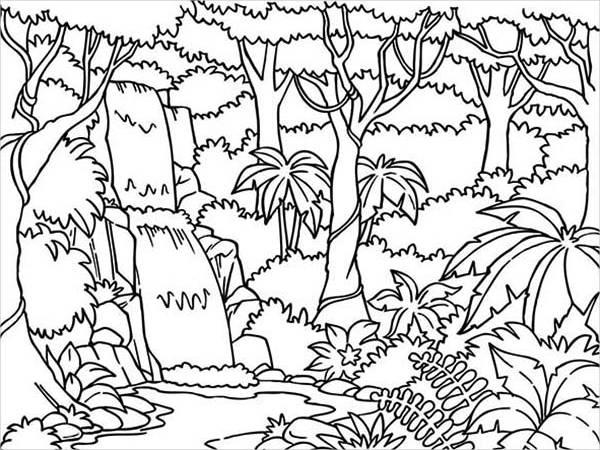 7583 jungle free clipart 51