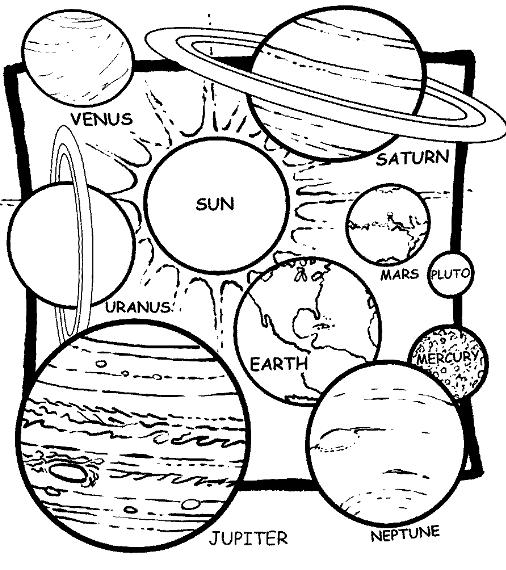 817 solar system free clipart 4