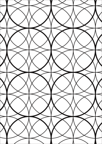 abstract pattern coloring page free printable coloring pages
