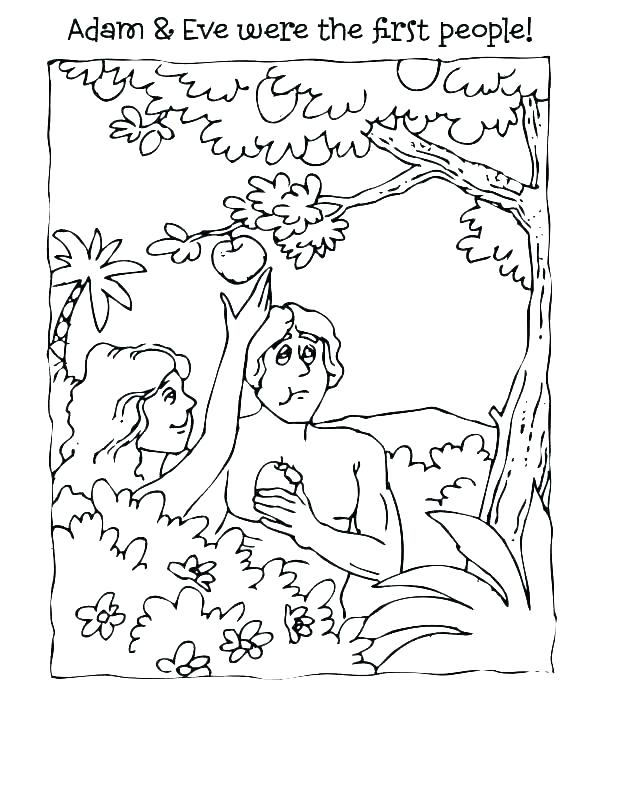 adam and eve printable coloring pages dopravnisystem