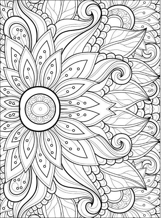 adult coloring pages flowers 2 2 flower coloring pages