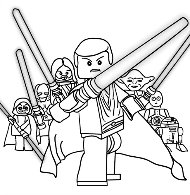 - Star Wars Coloring Pages Gallery - Whitesbelfast