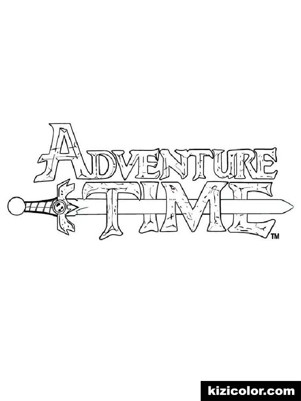 adventure time 1 kizi free coloring pages for children