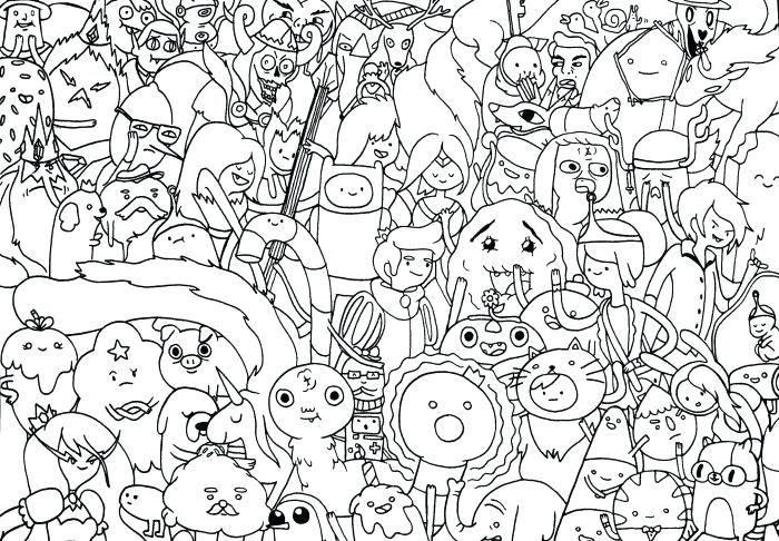 adventure time coloring page pages flame princess