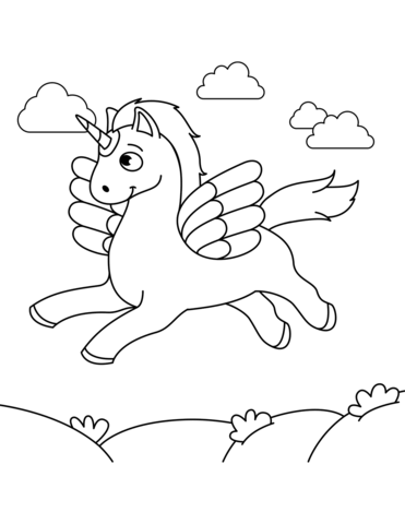 alicorn coloring page free printable coloring pages