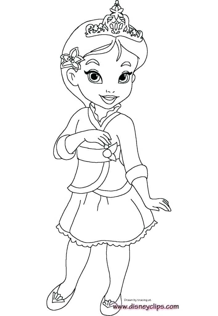 all disney princesses coloring pages princess free to print