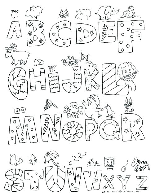 alphabet coloring pages d at getdrawings free for