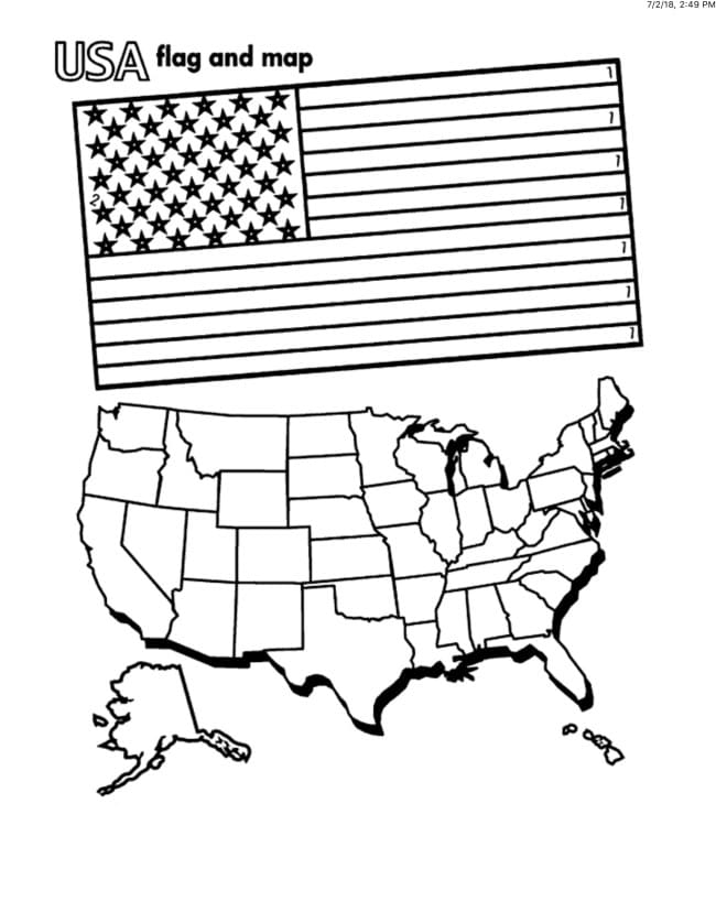 american flag coloring pages you can print on the site for free