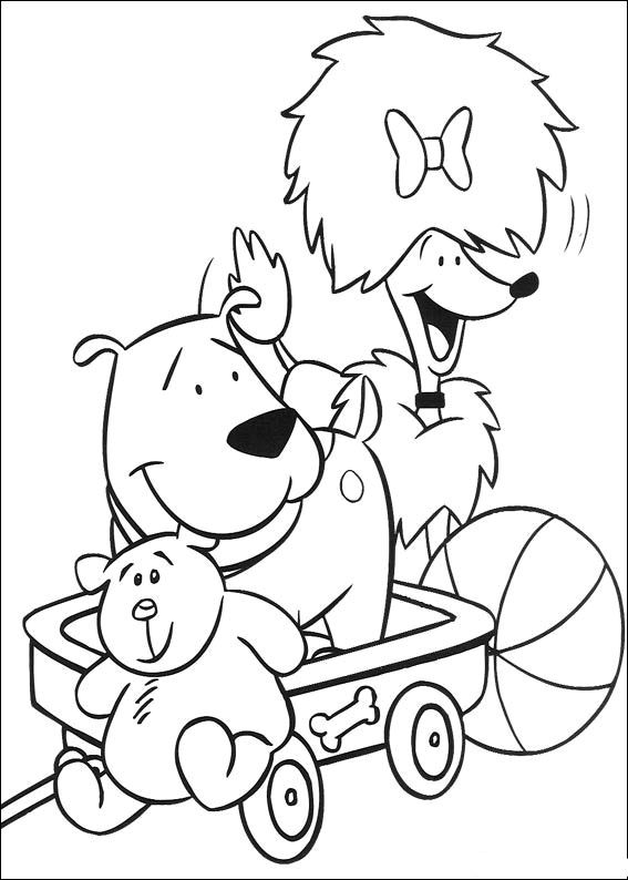 animations a 2 z coloring pages of clifford the big red