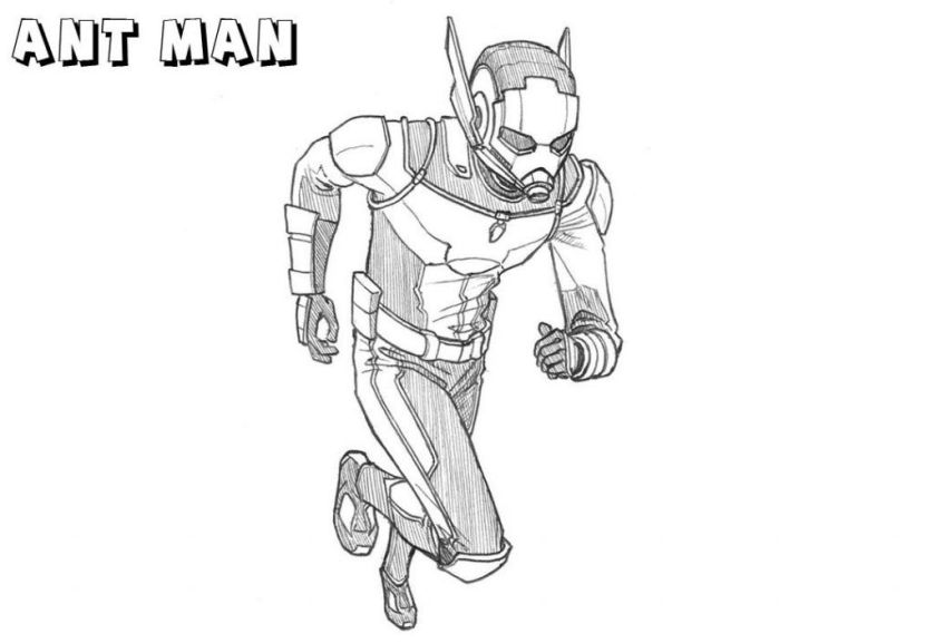 ant man coloring pages ant man avengers coloring pages