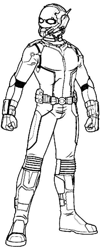 ant man coloring pages ant man avengers coloring