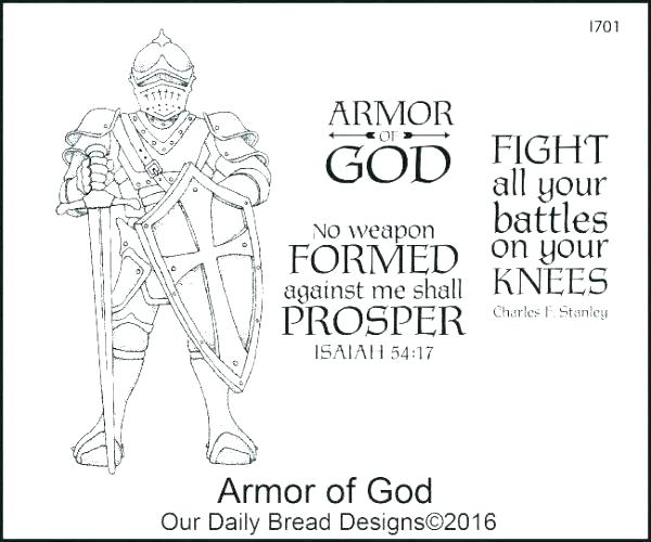 armor of god activity coloring pages educationhub