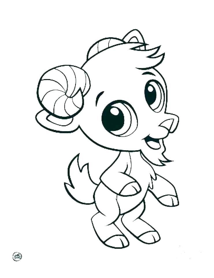 ba animal coloring cute ba animal coloring pages to