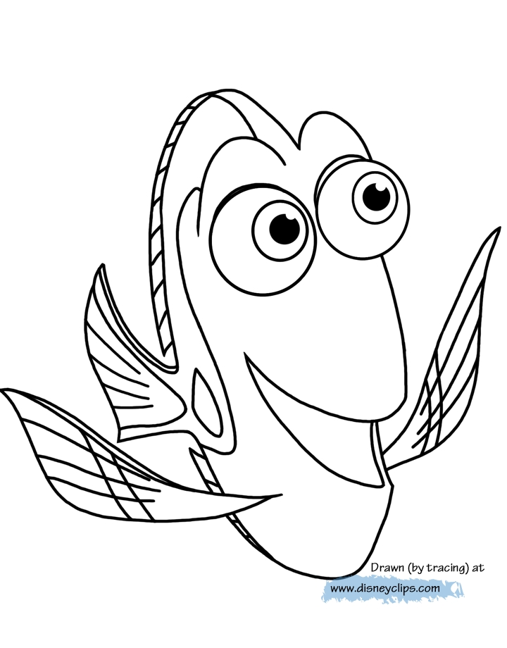 ba dory coloring pages at getdrawings free for