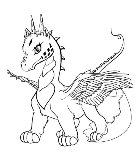 ba dragon coloring page malbuch vorlagen badrache und