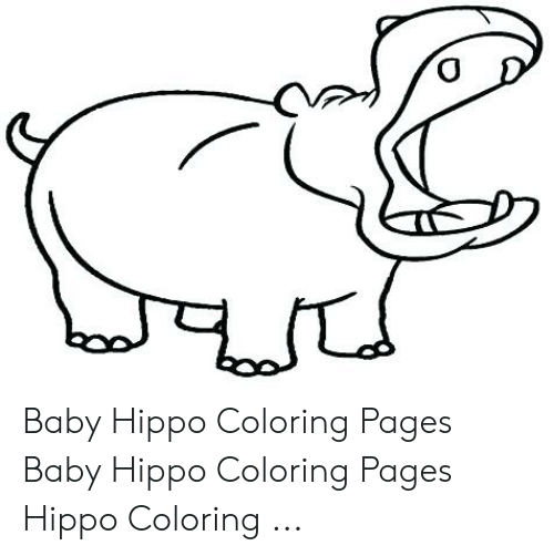 ba hippo coloring pages ba hippo coloring pages hippo